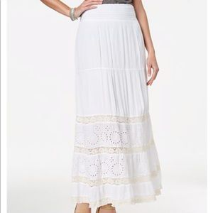 Style & Co Maxi Skirt Large NWT